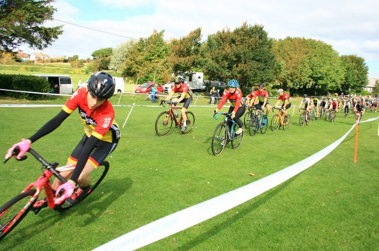 18.10 Kinesis UK LDN and SE Cyclocross Rd.10 Somerhill 22nd December