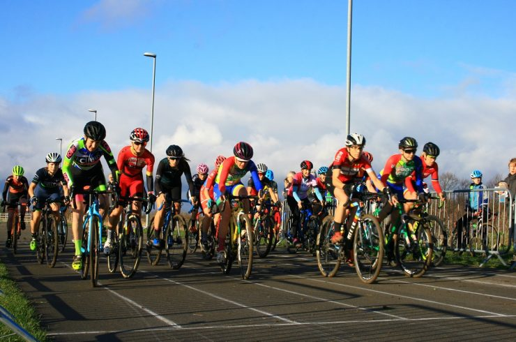 Women's Only Races at the Kinesis UK London and SE Cyclocross League